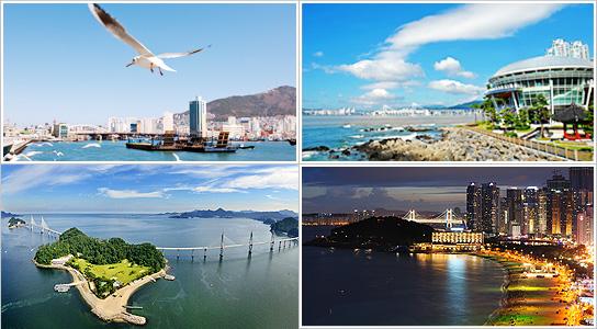 需要时间: 约3小时40分钟   运行路线: 釜山站 → 影岛大桥(经由)