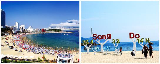 """位于韩半岛东南部的釜山是韩 国的第一大港口城市,拥有海水浴场、历史文化遗迹和各种时尚前卫的购物中心等旅游资源。釜山的巴士、地铁等大众交通非常发达,但如果利用""""市区游巴士""""的话则可更加方便快捷的游览到整个釜山的主要景点。市区游巴士是一次购票便可在一天中随意搭乘红色,蓝色,绿色三条线路,并且还有使用大型巴士进行的市区游。除此之外,需提前预约的主题游路线也在运营中。"""