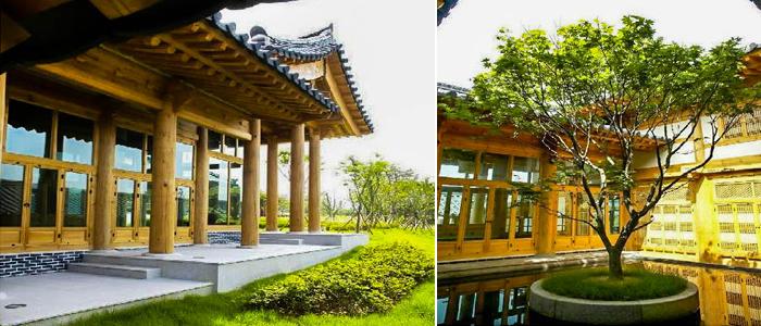 韩国大邱木质建筑