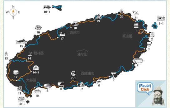 [地图提供: 济州偶来社团法人]