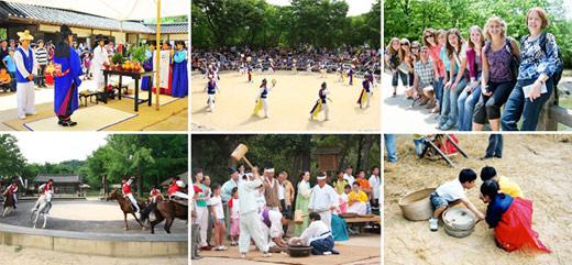 2011 中秋假期韩国民俗村庆中秋活动