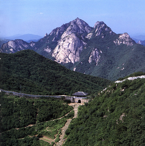 Festung Bukhansanseong (북한산성)