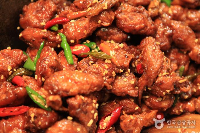 인천 신포닭강정