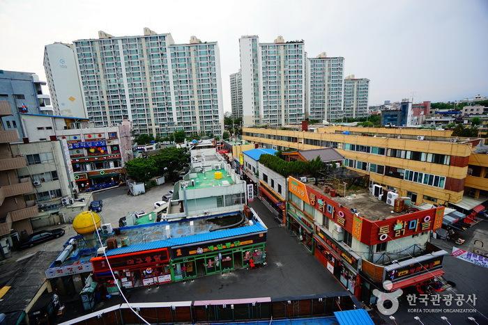 大邱平和市場タクトンチプ通り(대구 평화시장 닭똥집 골목)