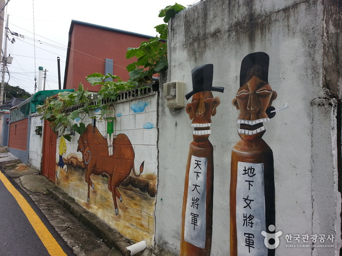 校洞 民画村(교동민화마을)