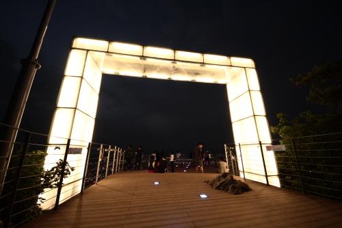 Парк Апсан в городе Тэгу (대구앞산공원)13