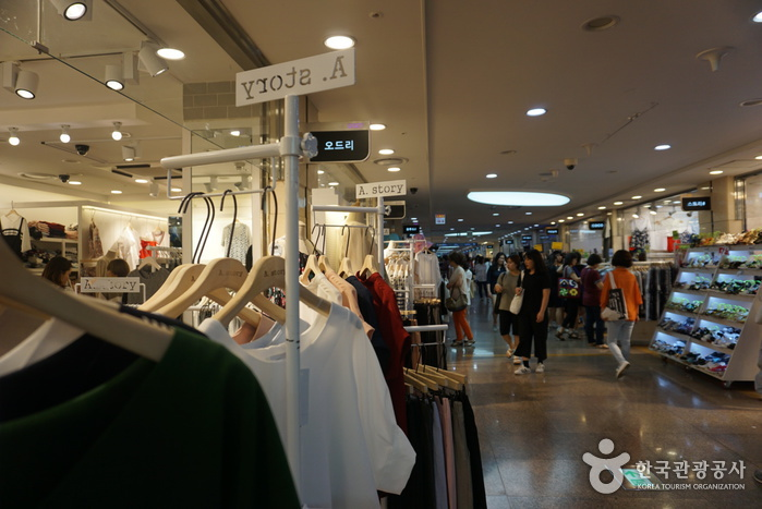 Goto Mall (Gangnam Terminal Underground Shopping Center) 고투몰 (강남터미널 지하도상가)