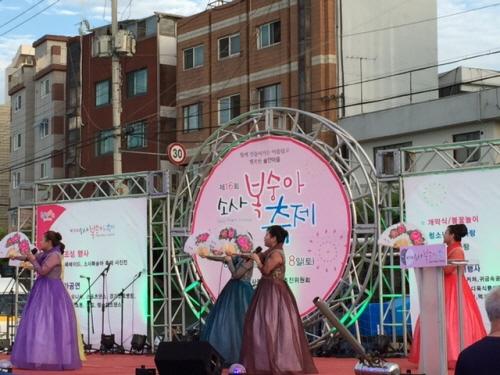 부천 소사복숭아축제 2017