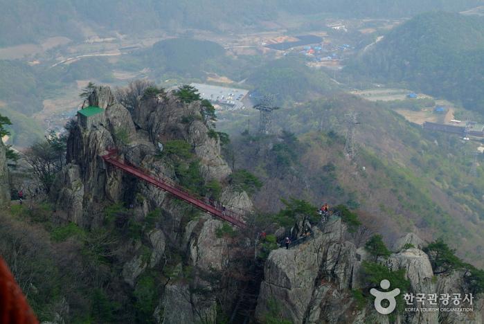 Provinzpark Daedunsan (Geumsan) (대둔산도립공원 - 금산)