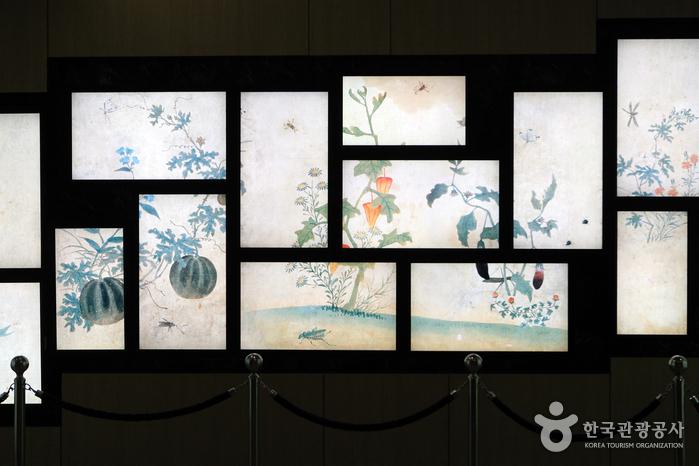 율곡기념관 신사임당의 디지털그림