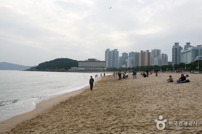 Пляж Хэундэ (해운대 해수욕장)