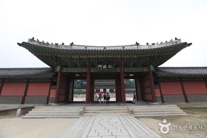 昌徳宮 仁政門(창덕궁 인정문)