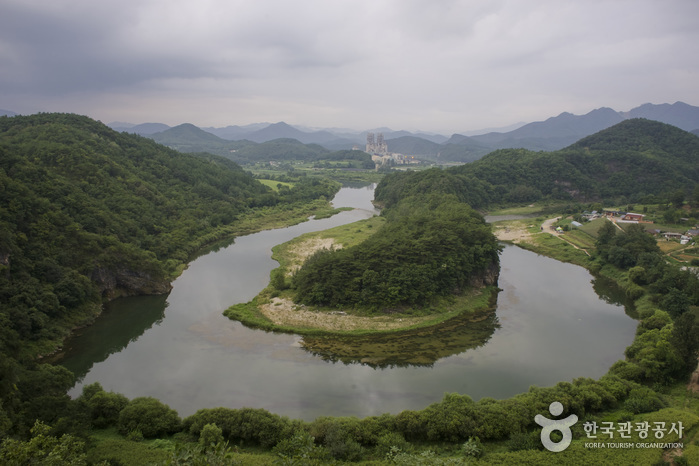 寧越 韓半島地形(영월 한반도 지형)