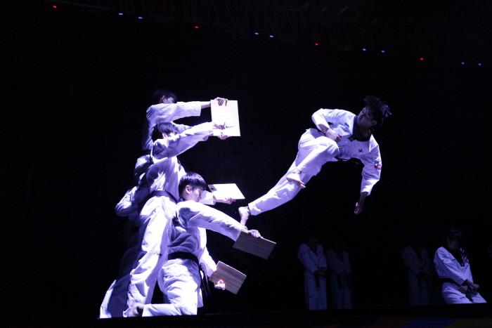 Spectacle de l'équipe de démonstration de taekwondo de Kukkiwon : Great Taekwondo (국기원 태권도 시범단 상설공연: 'Great Taekwondo - 위대한 태권도')