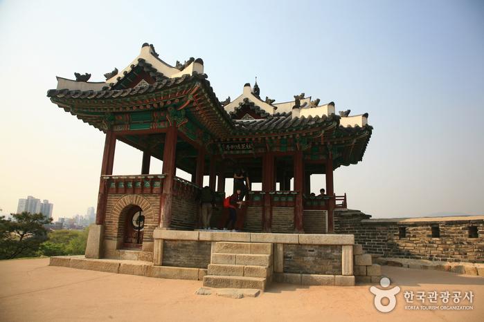 訪花隨柳亭(東北角樓)(방화수류정(동북각루))6