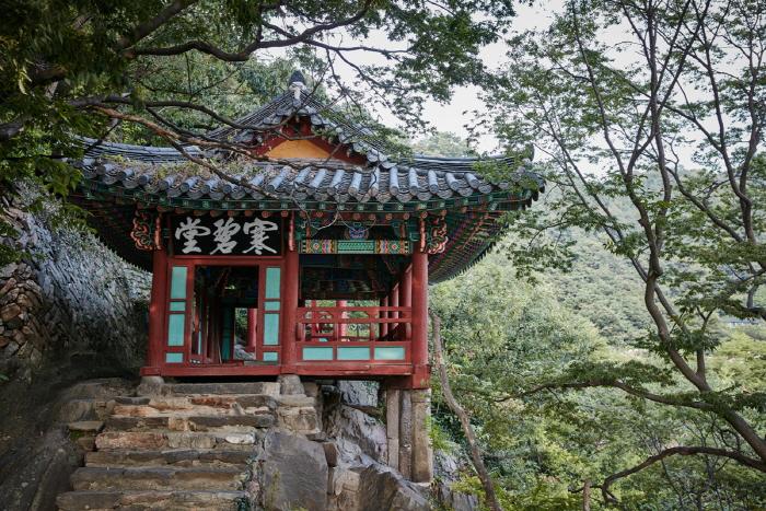 Pavillon Hanbyeokdang (한벽당)