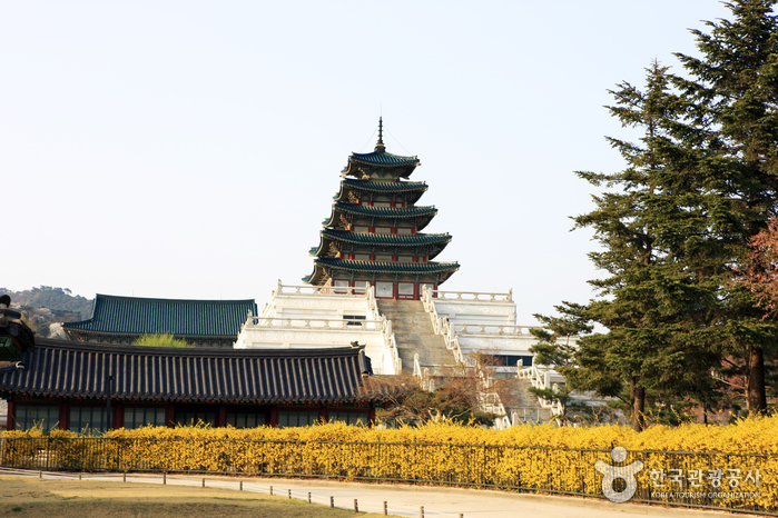 photo about National Folk Museum of Korea