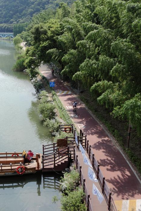 태화강 자전거도로