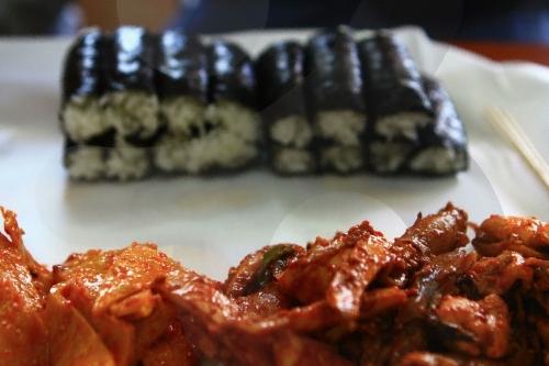 특허 받은 맛으로 유명한 충무김밥 맛집