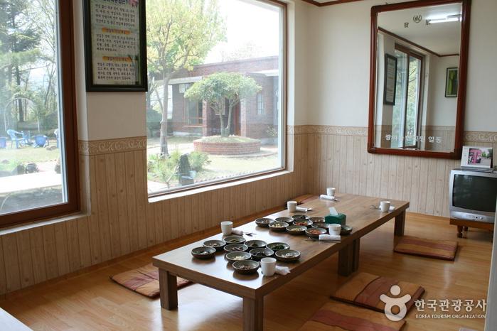 草家院ガーデン食堂(초가원가든)