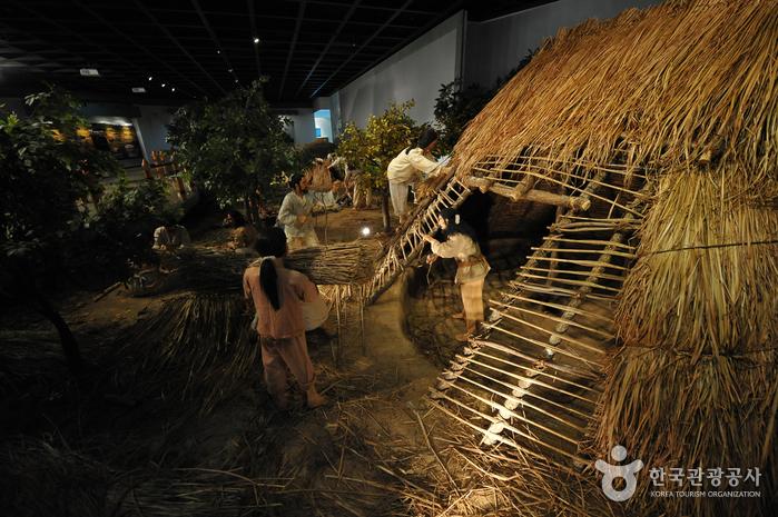 Музей дольменов в Кочхане (고창고인돌박물관)