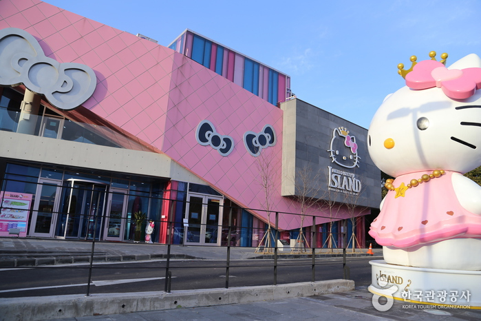 Where Is The Hello Kitty House Located hello kitty island (헬로키티아일랜드) | official korea tourism