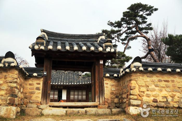 Парк Тончхундан в городе Тэчжон (대전 회덕 동춘당)3