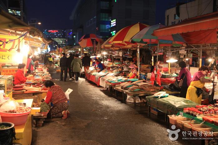 釜山札嘎其市場(부산 자갈치시장)3