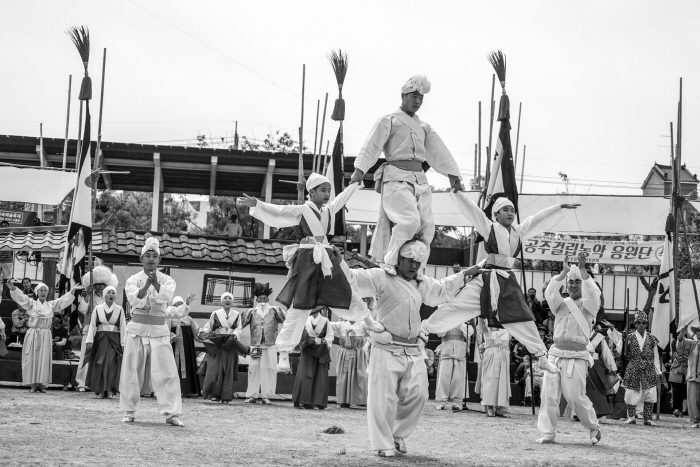 Koreanisches Volkskunstfestival(한국민속예술축제 및 전국청소년민속예술제)