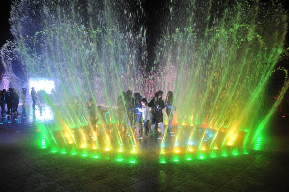 Dadaepo Sunset Fountain of Dream (다대포 꿈의 낙조분수)