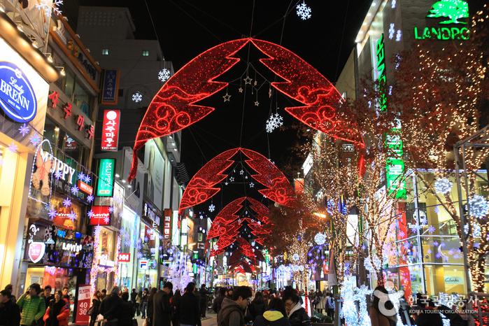 釜山聖誕樹文化節(부산크리스마스트리문화축제)