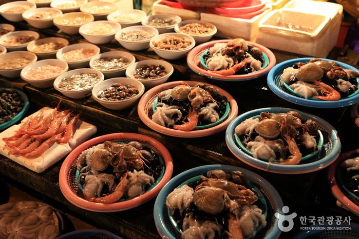 釜山札嘎其市場(부산 자갈치시장)4