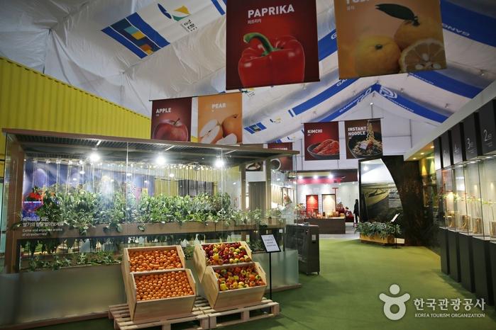한국 제철 과일과 채소에 대해 소개하는 코너