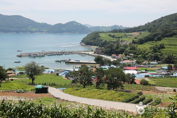 남해 풍경