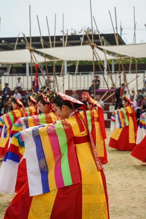 Festival de Arte Folclórico Coreano (한국민속예술제)