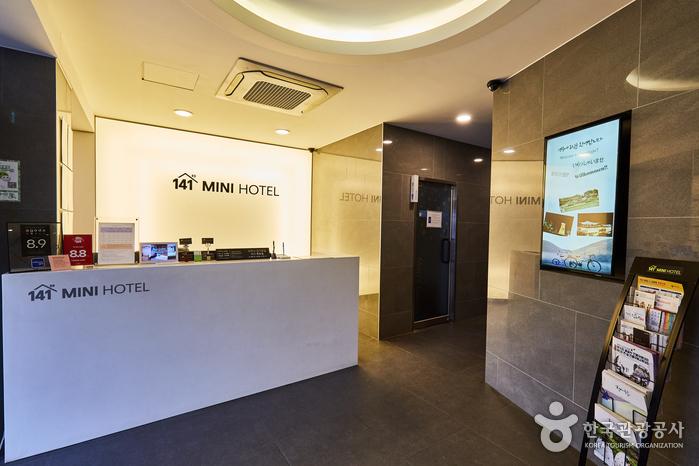141ミニホテル[韓国観光品質認証](141미니호텔[한국관광품질인증/Korea Quality])