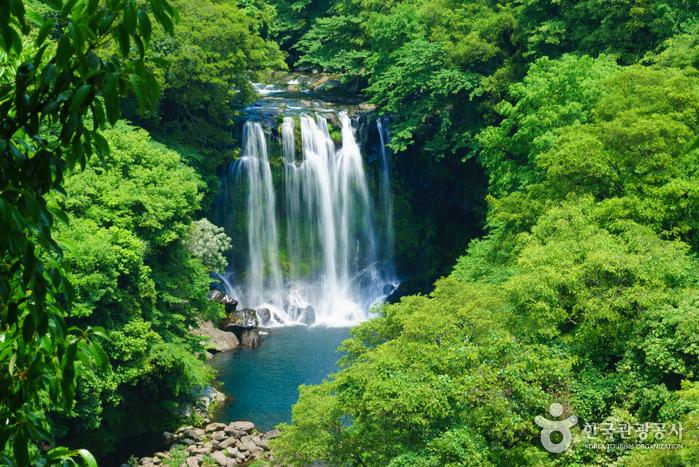 Wasserfall Cheonjeyeon (천제연폭포)