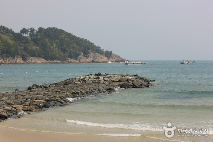 Sangju Silver sand Beach ( )