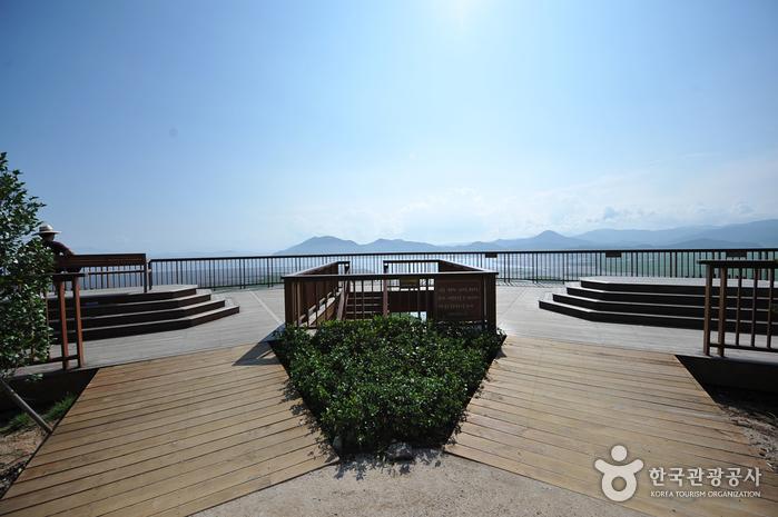 Обзорная площадка Ёнсан у залива Сунчхонман (순천만 용산전망대(S자 물길))7