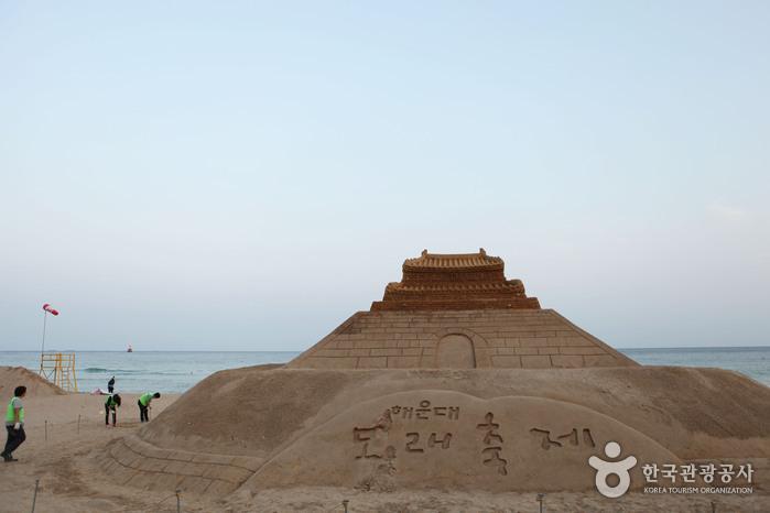 Фестиваль песка на п...