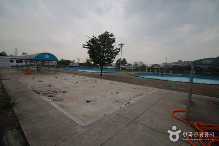 Outdoor Swimming Pools in Gwangnaru Hangang Park (한강시민공원 광나루수영장(실외))
