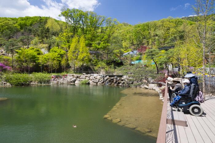 원앙연못(화담숲)