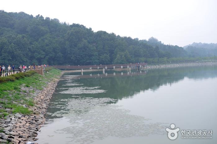 Pungam Reservoir (풍암저수지)