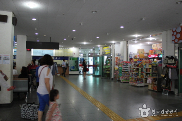 Jeonju Intercity Bus Terminal (전주시외버스터미널)
