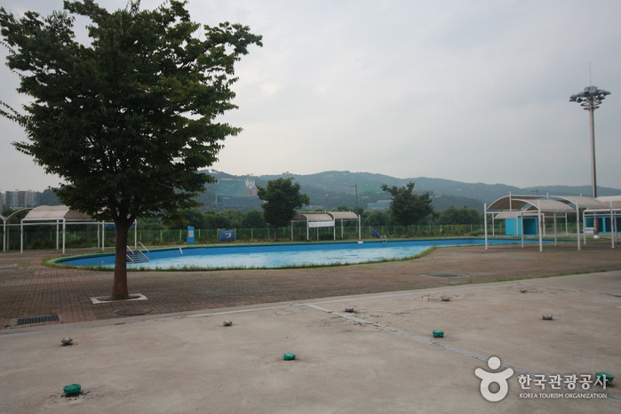 Gwangnaru Hangang Park Outdoor Swimming Pool (한강시민공원 광나루수영장(실외))