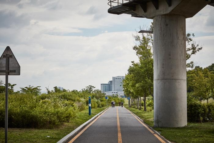 Городской парк Ханган в районе Чамсиль (한강시민공원 잠실지구(잠실한강공원))8