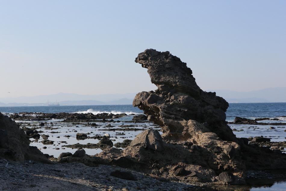호미곶 바위