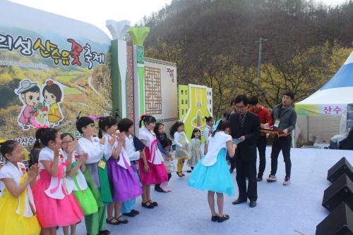 義城 山茱萸村花イベント(의성산수유마을 꽃맞이행사)