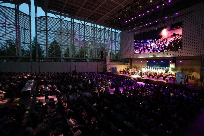 대전엑스포시민광장에서 열리는 음악회