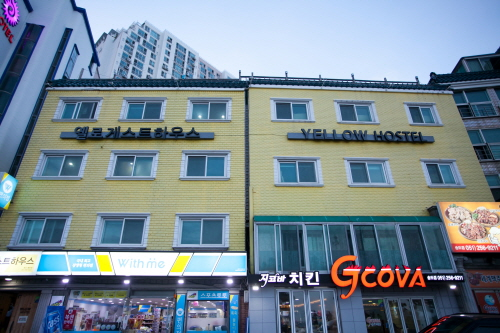 釜山民宿Sum-Songdobeach[韩国观光品质认证/Korea Quality, 优秀住宿]<br>부산게스트하우스 숨 옐로송도비치[한국관광품질인증/Korea Quality, 구굿스테이]